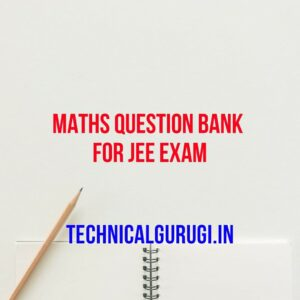 maths question bank for jee exam