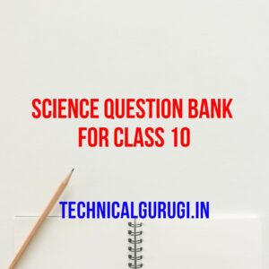 science question bank for class 10